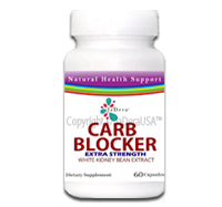 Carb Blocker with white kidney bean extract as seen on dr oz