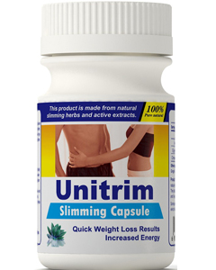 Unitrim weight loss metabolism booster supplement